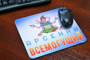 Друк на килимках для миші